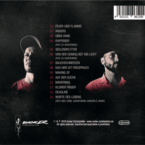 Freispruch Album Backcover