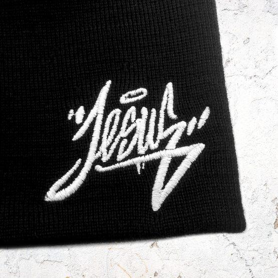 Jesus Beanie Mütze 03